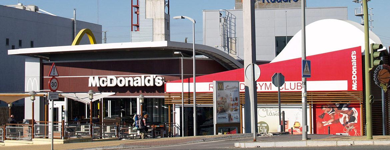 restaurante MC Donald's en Parque Guadaíra