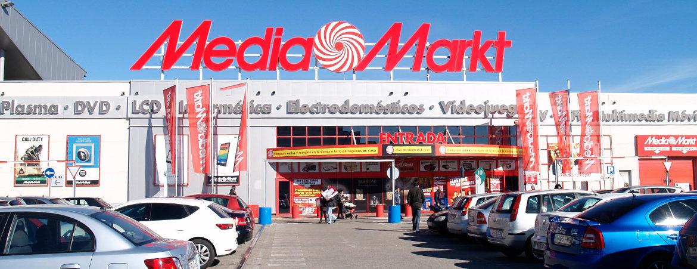 tienda media markt en Parque Guadaíra