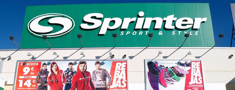 tienda sprinter en Parque Guadaíra