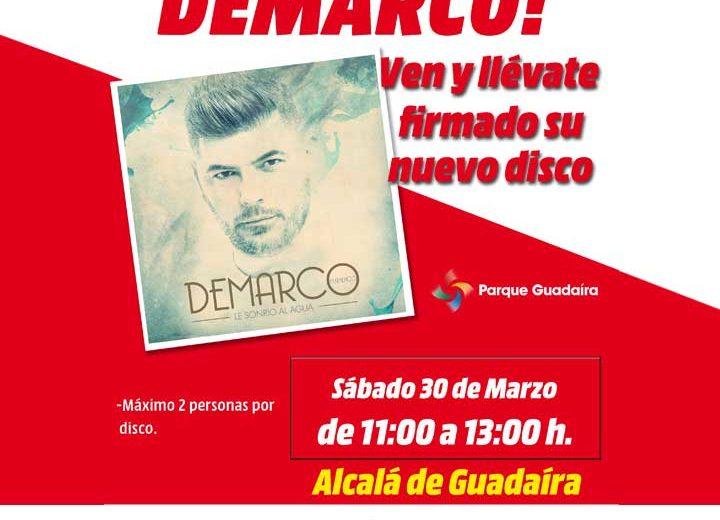 Firma de Discos DEMARCO en Parque Guadaíra