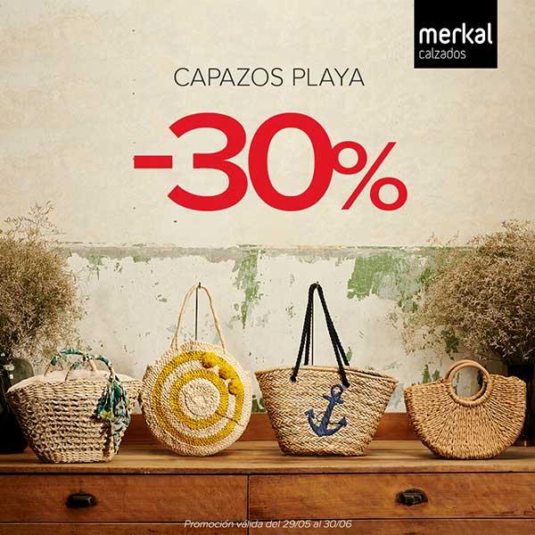Oferta Merkal Calzados Playa Parque Guadaía