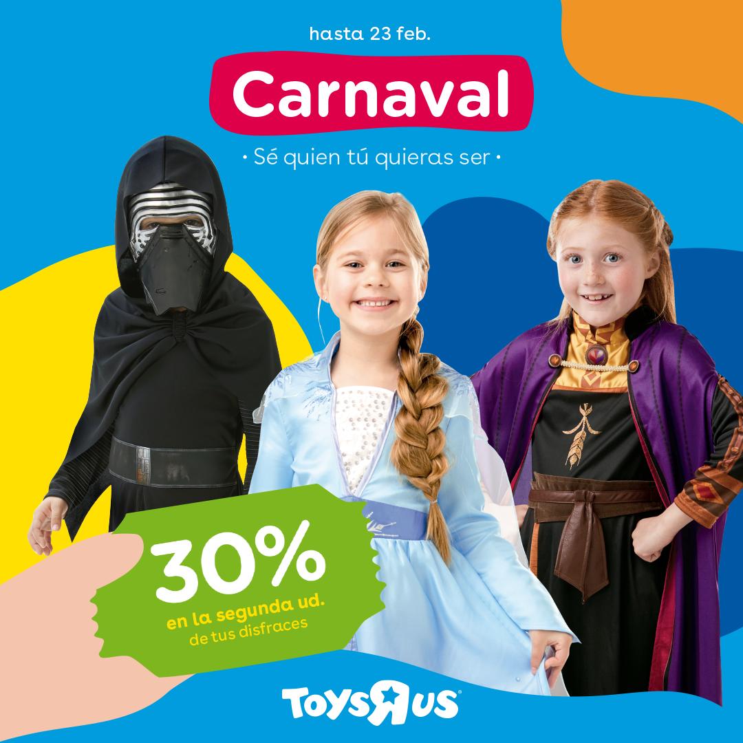 30% ToysRus Carnaval