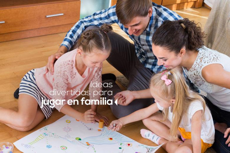 ideas para jugar en familia